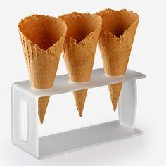 Cialda o cono al burro per gelati con il Bimby TM5 ~ Ricette Bimby TM5 - Ricettario completo