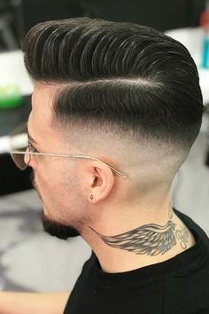 Most unusual brazilian men's hairstyles Hair And Beard Styles, Short Hair Styles, Hair Styles For Boys, Hair Designs For Boys, Long Hair Fade, Types Of Fade Haircut, Gents Hair Style, Men Hair Color, Faded Hair
