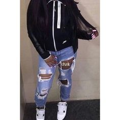 Pin by lesliemunii on wardrobe trips letit Chill Outfits, Dope Outfits, Swag Outfits, Casual Outfits, Teen Outfits, College Outfits, Classy Outfits, Dope Fashion, Fashion Killa