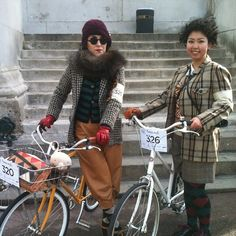 London Tweed Run 2013The #tweedrun is better than fashion week and pitti uomo combined. #Tokyobike ladies bringin' it home