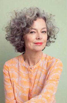 Short Curly Hair Older Women Popular Short Curly Hairstyles 2018