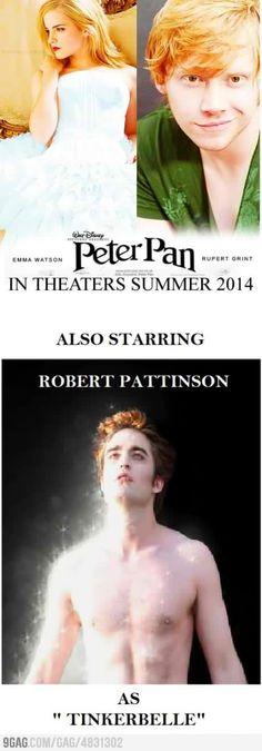 Heh.  Peter Pan wishes...