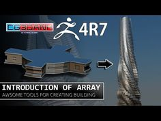 ZBRUSH 4R7 TUTORIAL_USE OF ARRAY FOR CREATING BUILDING(DETAIL) - YouTube