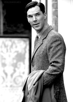 Benedict Cumberbatch, The Imitation Game. In love ... can't help it. Looking forward to this movie!