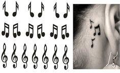 dessin-tatouage-notes-musique-oreille