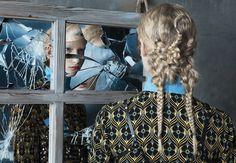 Angelo Seminara, Vogue, Italia, 2015, Frederikke Sofie, blond, Италия, косы, плетения, длинные волосы, блонд
