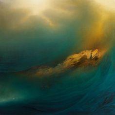 peinture ocean 01 800x800 Un océan peint par Samantha Keely Smith
