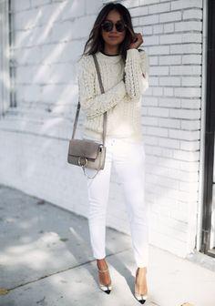 White on White @fashionfforever