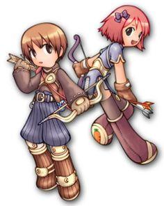 Gravity Archer Male & Archer Female