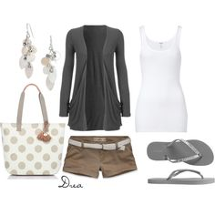 gray white, created by andrearology on Polyvore