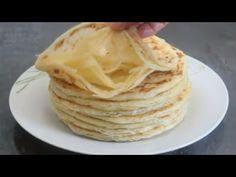 Meloui sans trop pétrir, bien feuilleté / crêpes marocaines - YouTube French Pastries, Meals, Cookies, Breakfast, Ethnic Recipes, Pains, Beignets, Tortillas, Ramadan