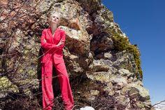 Брючный костюм «Мэрил»  коралл— 29990 рублей