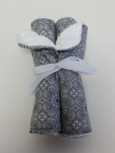 set of Mommies will love these practical and fashionable accessories. Cotton terry bottom with printed medallion grey cotton top. These burp cloths wi Burp Cloth Set, Fashion Accessories, Grey, Prints, Cotton, Image, Collection, Gray, Repose Gray