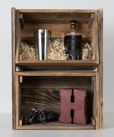 Another great find on #zulily! Crate Shelf by DelHutson Designs #zulilyfinds