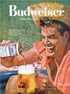 Budweiser 1959 #budweiser #throwback