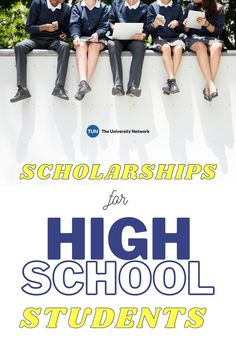 Here are 12 of the best scholarships available for high school students!