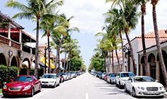 Worth Avenue, Palm Beach: Since 1938 - the ultimate, most luxurious shopping destination in Palm Beach.