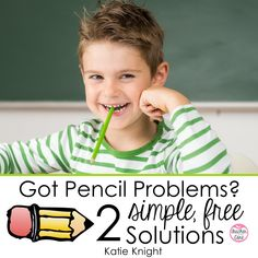 I am not promising you that you will never have another lost pencil. But, these 2 simple solutions will help your students keep track. Teaching Activities, Teaching Science, Teaching Ideas, Classroom Organization, Classroom Management, Class Management, Good Fit Books, Polar Express Movie, Just Right Books