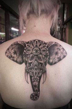 elephant tattoo designs (72)