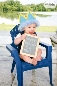 First birthday props for photos!!