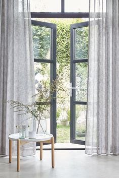 Find your modern sheer curtain inspiration with us at Watson Blinds. Whether it is to adorn your patio windows, living room or bedroom, you can choose your ideal curtain style to match your existing home decor. Shop our wide range of fabrics, styles and patterns for sheer curtains now. #curtains #sheercurtains #watsonblinds