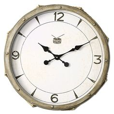 Uttermost Rope Snare Wall Clock * For more information, visit image link.