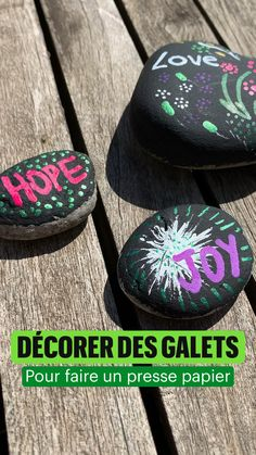 Homemade Anniversary Gifts, Diy Cadeau, Potager Garden, Creative Decor, Pebble Art, Stone Painting, Container Gardening, Painted Rocks, Roman
