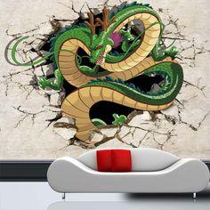 Japanese anime naruto photo wallpaper gaara wall mural for Dragon ball z mural