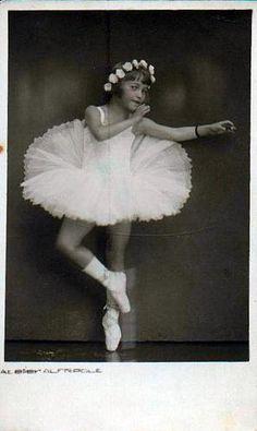 Vintage Ballet Dancer