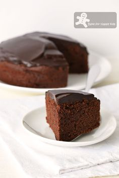 Bake for Happy Kids: Donna Hay's Melt-and-Mix Gluten-free Chocolate Cak...