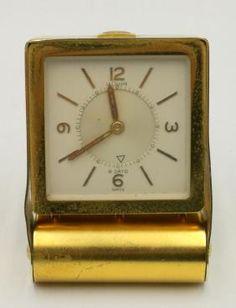 Le Coultre Desk Clock