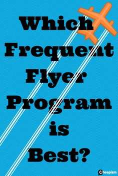 Get the most back from your travel by using the most frequent flyer programs.