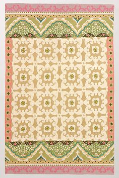 Floral Fresco Rug #anthropologie
