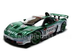 Honda Nsx Diecast Car 1/18 2004 Jgtc Takata Dome 18 Green Die Cast Car Model By Autoart
