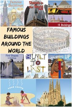 Can your child recognize famous buildings and structures around the world? A great list of books and resources to learn about world architecture for kids. Cool facts about famous buildings around the world too. Famous Structures, Famous Buildings, Teaching Geography, World Geography, Facts For Kids, Fun Facts, Atelier Architecture, China Architecture, Summer Reading 2017