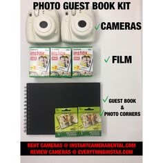 We rent Polaroids/Fujifilm Instax Cameras and instant cameras for weddings and other events. Photo Guest Book, Guest Book Sign, Wedding Guest Book, Guest Books, Wedding Invitation Etiquette, Wedding Invitations Online, Polaroid Wedding, Chicago Wedding Venues, Do It Yourself Wedding