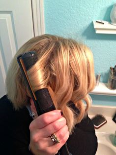 PAMPERS AND PEARLS: How- To Wavy Bob