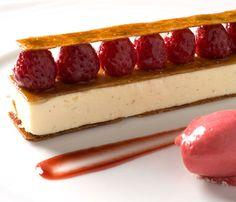One Michelin Star Restaurant, Dublin, Ireland Chapter One Restaurant, Michelin Star, White Plates, Ireland Travel, White Chocolate, Raspberry, Cheesecake, Thanksgiving, Sweets