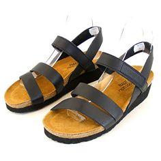 1542b2475551 Naot Women s Kayla Black Leather Size 39 Naot http   www.amazon.
