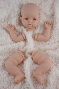 SALE 18 vinyl reborn doll KIT Sweet Cheeks by by BabiesByEmily