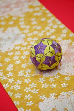 Japanese traditional hand made ball, Temari 手毬