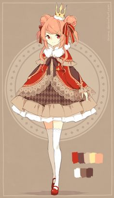 [CLOSED] ADOPTABLE | Princess by ocono.deviantart.com on @DeviantArt