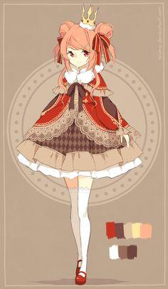 [CLOSED] ADOPTABLE   Princess by ocono.deviantart.com on @DeviantArt