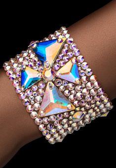 Bettina Rhinestone Bracelet HJ304 CAB   Dancesport Fashion @ DanceShopper.com