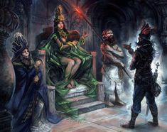 Art by Merlkir. I love everything this man produces. #fantasy