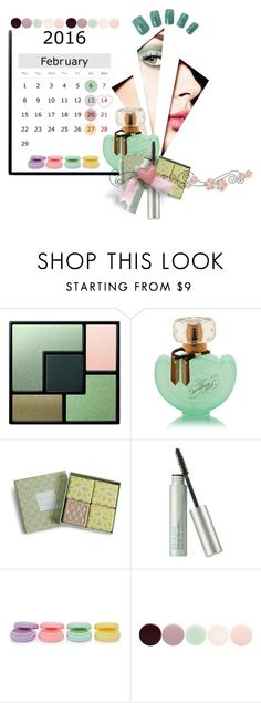 """""""February 2016 Calendar"""" by kari-c ❤ liked on Polyvore featuring beauty, Yves Saint Laurent, Vera Bradley, Origins, Forever 21 and Nails Inc."""