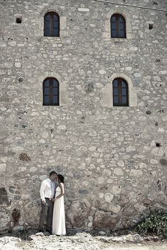 Romantic wedding photos in Kardamyli by rChive Visual Storytellers - Destination wedding photography in Peloponnese