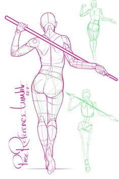 39 Best Staff Poses Images Drawings Drawing Reference Anatomy