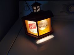 Rare vintage Schlitz Beer Bar Tavern lighted wall advertising sign lamp style Schlitz Beer, Beer Bar, Advertising Signs, Brewing Co, Wall Lights, Vintage, Home Decor, Style, Swag