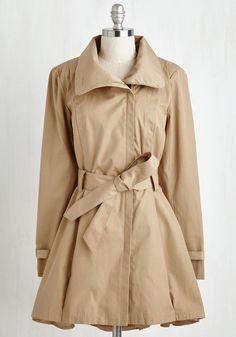 Class a Wrap! Coat in Camel, #ModCloth